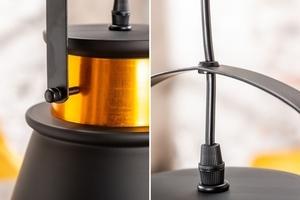 INVICTA pendant lamp LUZ II - 25 cm black and gold small 3