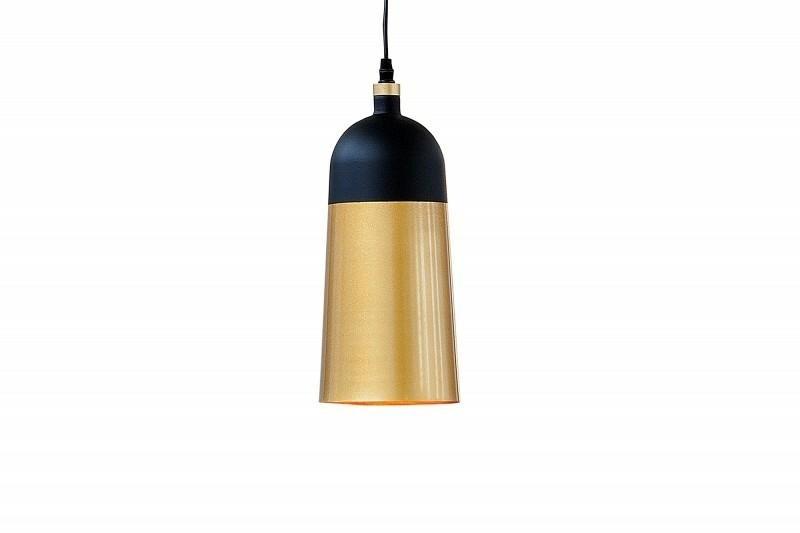 INVICTA pendant lamp MODERN CHICK - black and gold