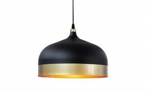 INVICTA pendant lamp MODERN CHICK II - black and gold small 0