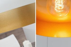 INVICTA pendant lamp MODERN CHICK II - white and gold small 1