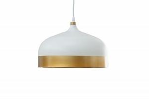 INVICTA pendant lamp MODERN CHICK II - white and gold small 0