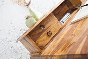 INVICTA writing desk HEMINGWAY 90 cm - sheesham wood small 3