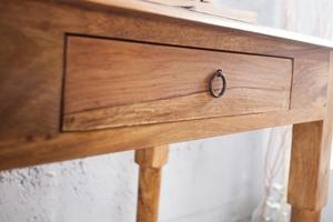 INVICTA writing desk HEMINGWAY 90 cm - sheesham wood small 4