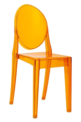 VICTORIA amber chair - polycarbonate
