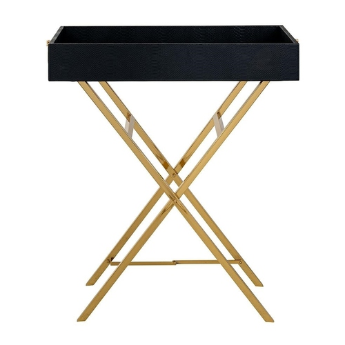 RICHMOND coffee table BUSTER black and gold