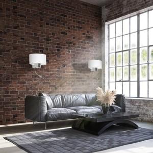 Casino White / Chrome 1x E27 + 1 W Led wall lamp small 5