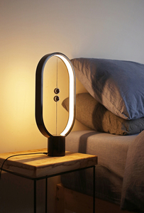 Segula Black table lamp with magnetic switch small 3