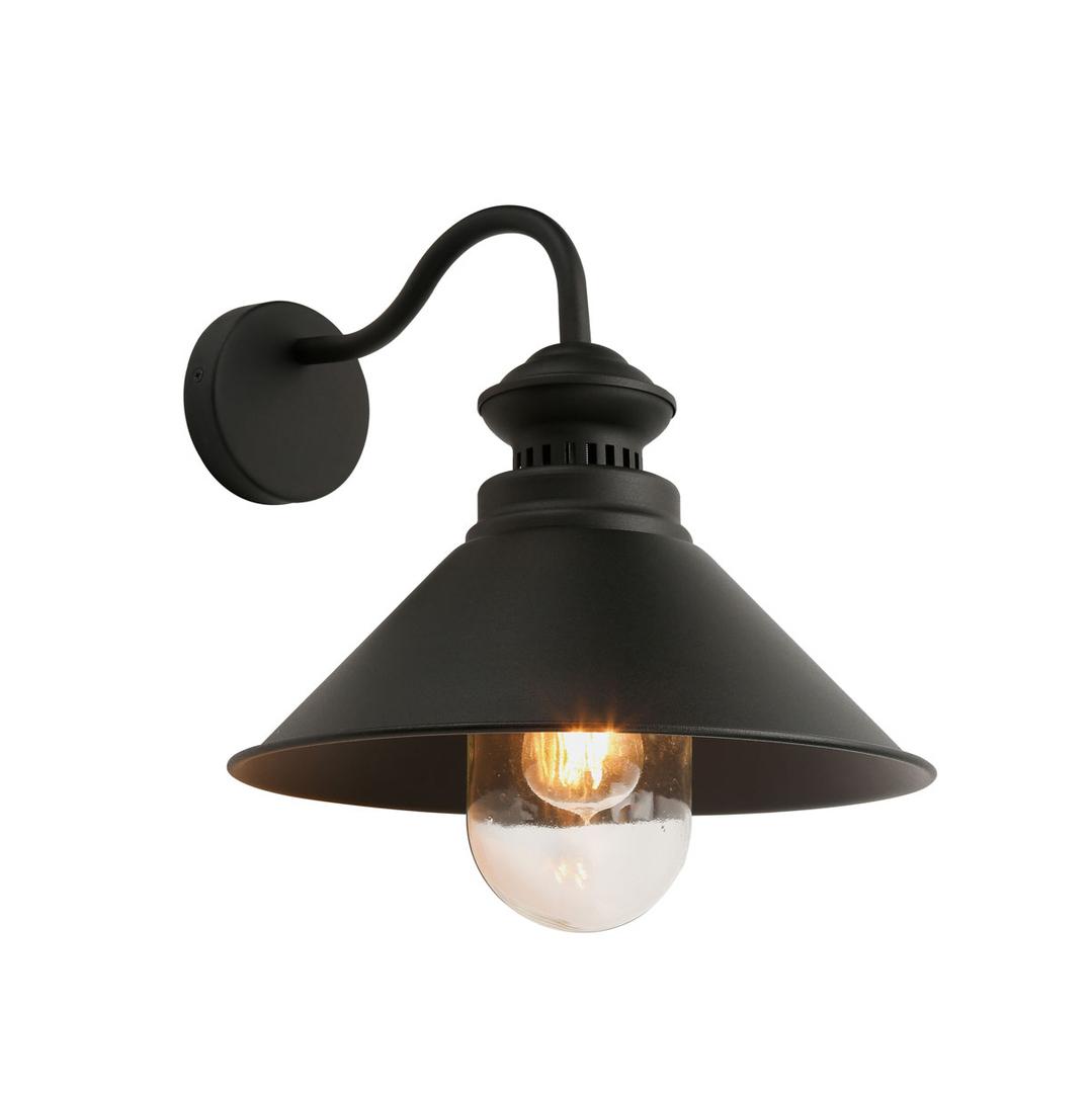 Gray Classic Wall Lamp Manesto E27