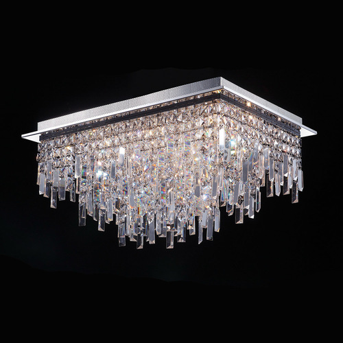 Classic 18-point Lavenda G4 Crystals Ceiling Lamp