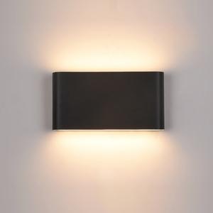 Black Romano LED outdoor wall lamp small 0
