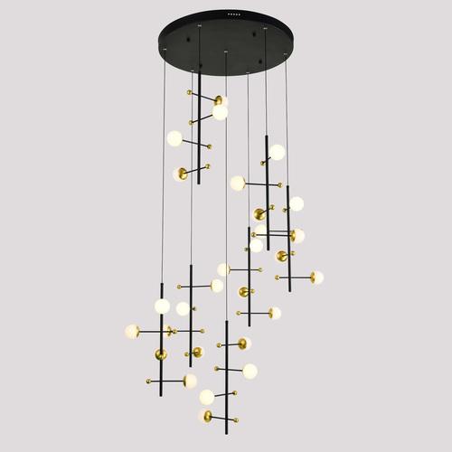 Modern Hanging Lamp Helmond LED