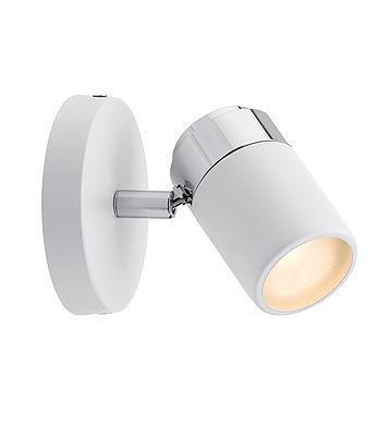 Spotlight Zyli IP44 GU10 White / Chrome 230V