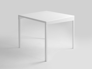 OBROOS METAL 80x80 dining table small 3