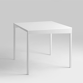 OBROOS METAL 80x80 dining table small 5