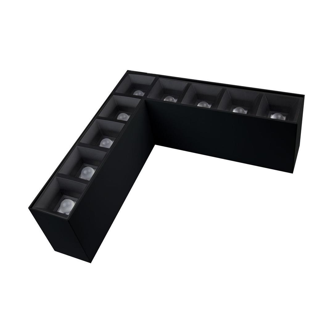 Allday Inspire Elements L Dark Light 80st Black 830 13w 230v Black