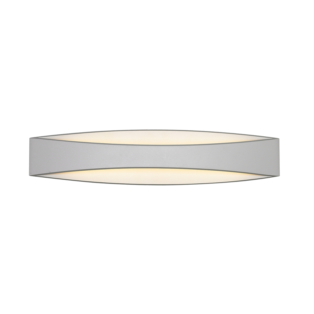 Modern White Wall Lamp Kaia LED