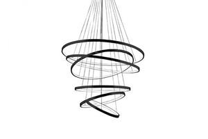 Hanging lamp Azzardo Wheel 6 Long dimm black AZ2923 small 2