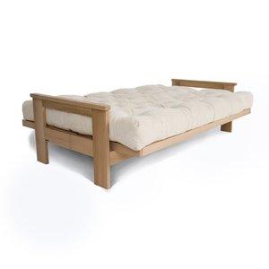 MEXICO sofa raw wood - cream small 1