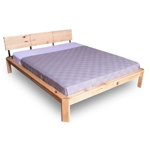 Loft bed to the bedroom 180x200 oiled wood (linseed oil) small 3