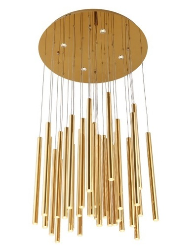 Organic Gold P0242 Hanging lamp P0242D Max Light