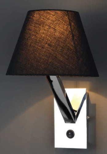 Orlando wall lamp black chrome 5103W / BL CR Max Light