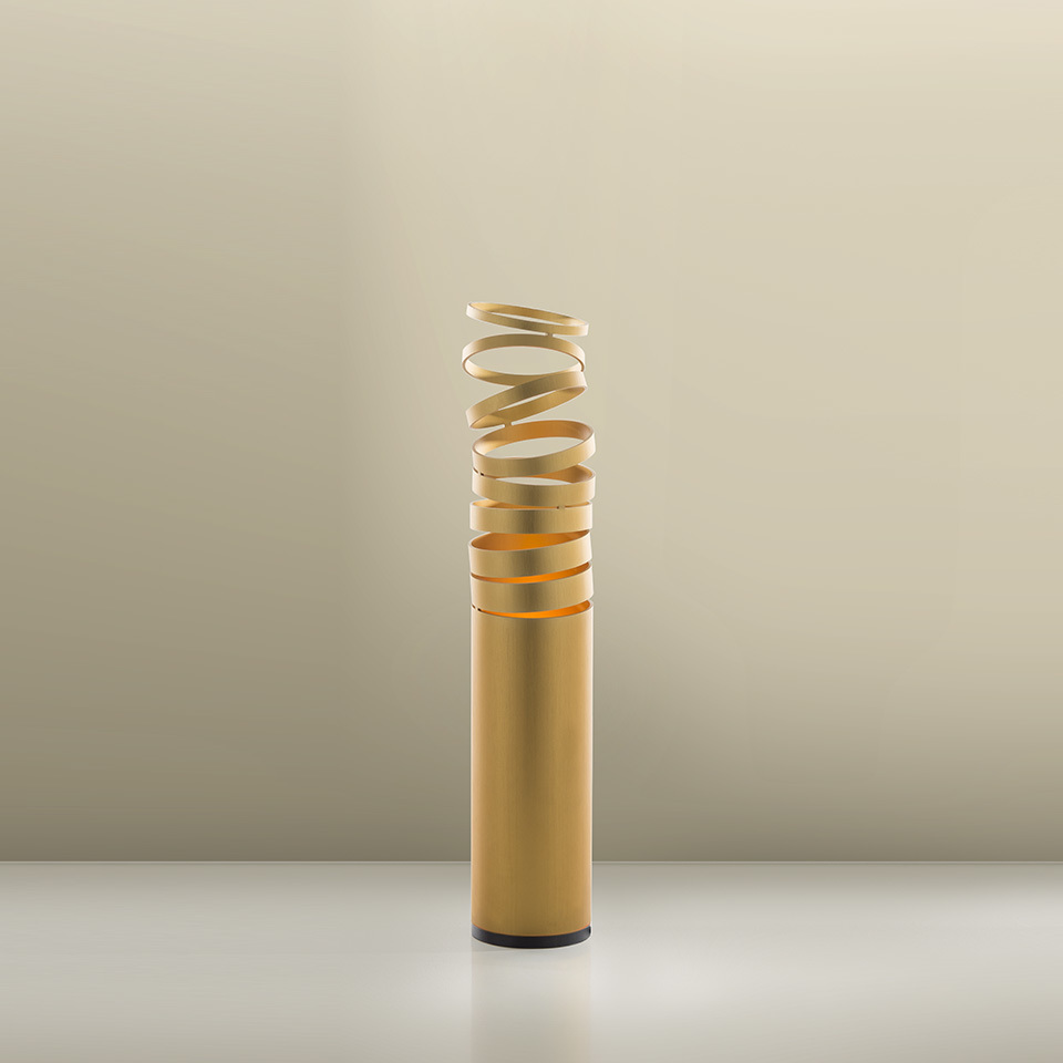 Table lamp Artemide DECOMPOSE 'LIGHT Gold