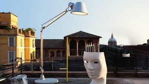 Tolomeo XXL outdoor lamp with base - LED Artemide small 2