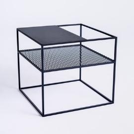 MATRIX METAL 50 coffee table - black small 5