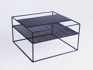 MATRIX METAL 80 coffee table - black small 3