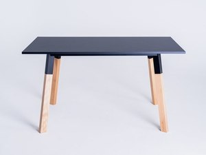 PRATO 140 dining table - black small 3