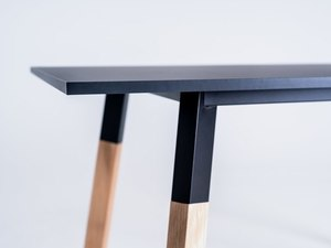 PRATO 140 dining table - black small 4