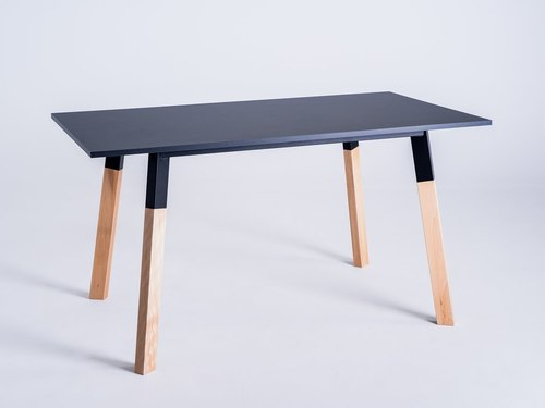 PRATO 140 dining table - black