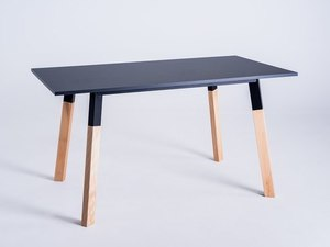 PRATO 140 dining table - black small 0