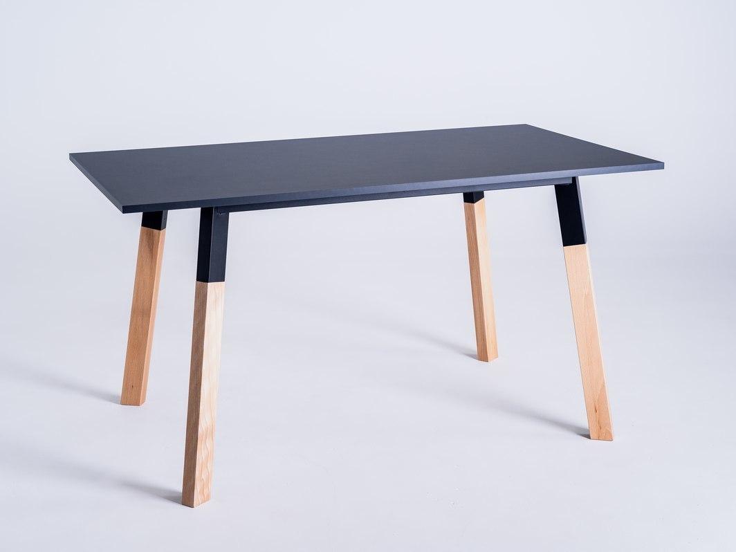 PRATO 140 dining table - black