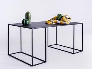 TORGET METAL 100X60 coffee table - black small 1