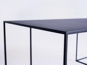 TORGET METAL 100X60 coffee table - black small 4