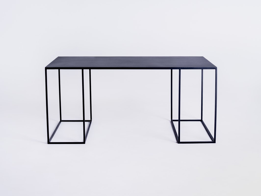 TORGET METAL 100X60 coffee table - black