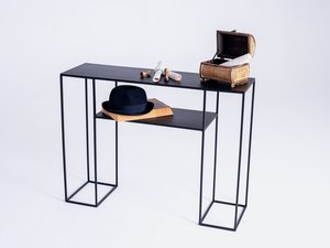 TORGET METAL 100 console - black small 2