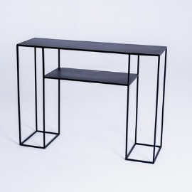 TORGET METAL 100 console - black small 5