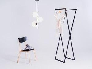 Pendant lamp BOBLER vertical - black small 1