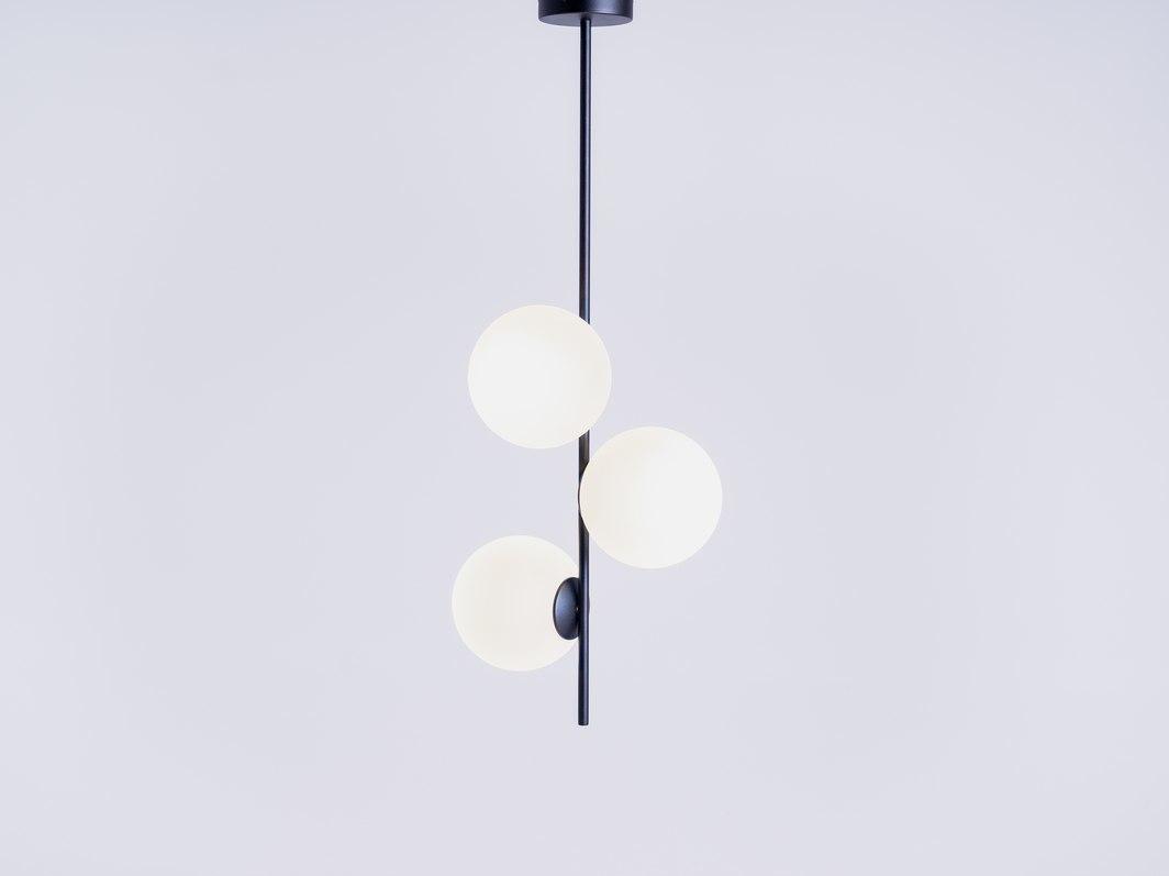 Pendant lamp BOBLER vertical - black