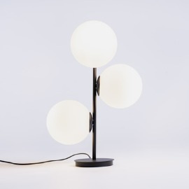 BOBLER table lamp - black small 5