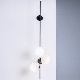 BOBLER 2connect wall lamp - black small 5