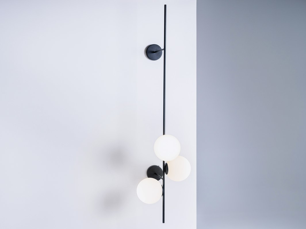 BOBLER 2connect wall lamp - black