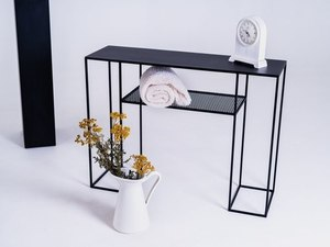 TORGET NET METAL 100 console - black small 2