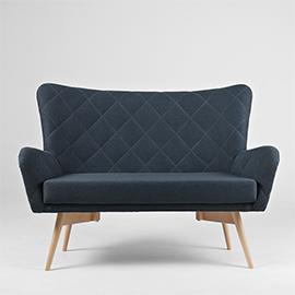 2 seater sofa KARRO small 5