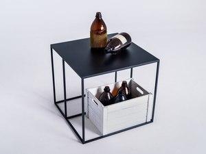 TORGET METAL 50 coffee table - black small 1