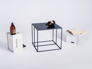 TORGET METAL 50 coffee table - black small 2