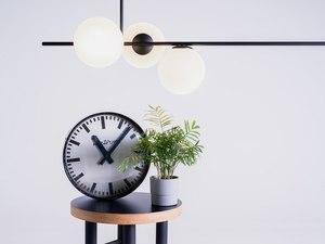 BOBLER horizontal pendant lamp - black small 1
