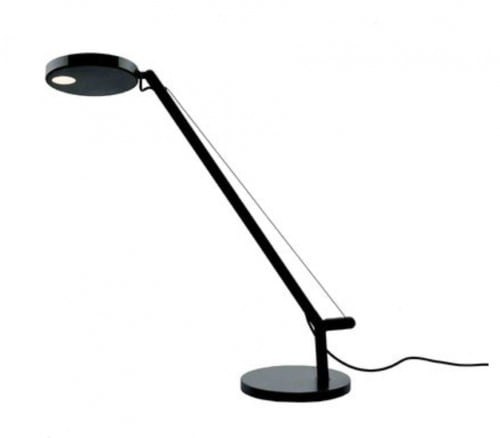 Table lamp Artemide Demetra Micro Table Czarna 2700K